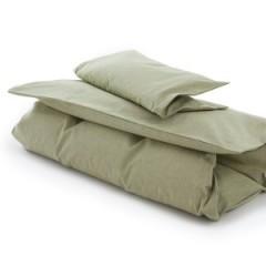 VivaTex - sengesæt - voksenstørrelser - mosgrøn